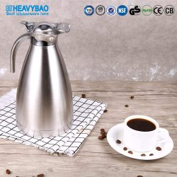 Heavybao Hochwertiger Edelstahl Vakuum-Kaffeekanne Wasserkocher