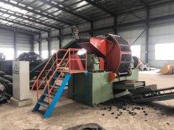 Máquina trituradora de caucho natural de la miga/eje de doble planta trituradora de neumáticos