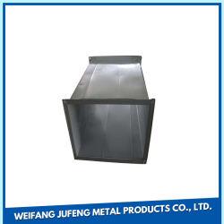 Ventilação de Aço Galvanizado retangular Sistema HVAC Duto de Ar Condicionado