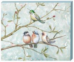 Uccello sulla maschera dell'olio dell'albero con l'HP per arte GF-P190522109 della parete