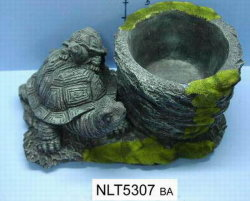 Usine de la tortue Polyresin (NLT5307BA)