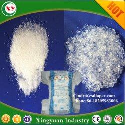 Polímero absorvente Super Sap para fraldas e absorventes higiênicos