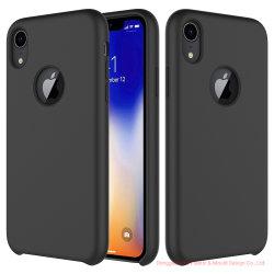Levering voor doorverkoop voor de Dekking van de Telefoon van Xr van iPhone, het Vloeibare Geval Van uitstekende kwaliteit van de Telefoon van het Silicone Mobiele voor iPhone Xr