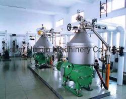 O disco separador de pilha centrífuga, 3 Fase de sólido, líquido, líquidos e 2 Fase para líquidos leves e pesados de separação de líquidos