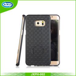 Samsung S6の端のための熱い販売の織り方パターン携帯電話カバー