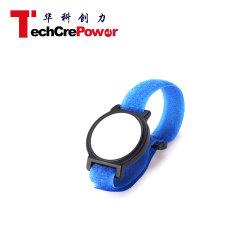 Correa de hebilla personalizada Watch 125kHz de nylon con pulsera RFID TK4100