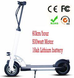 Longue durée de vie 40km de l'usine de charge rapide de fourniture en gros de la mobilité électrique Scooter Stock