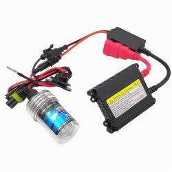 Авто фары с ксеноновыми лампами высокой интенсивности комплект с балластом 35W 55W 75W 100 Вт ксеноновая лампа H1, H3, H4, H7, H11
