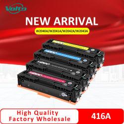 새로운 도착 HP HP 직업적인 M454 479를 위한 호환성 416A 고정되는 W2040A W2041A W2042A W2043A 토너 카트리지