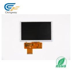 """5 """" schermi video TFT industriale dell'affissione a cristalli liquidi e dell'a tubo catodico di 480*272 500cr con Rtp"""