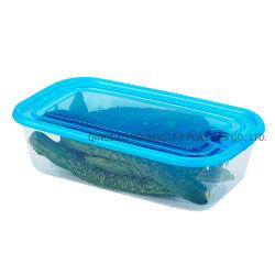 冷却装置オルガナイザーの人工物のプラスチック長方形の引出しの収納箱の台所食糧容器