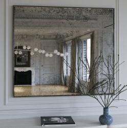 De moderne Spiegel van het Frame van de Muur van het Hotel van de Luxe Decoratieve Kleine Ronde Gouden Antieke