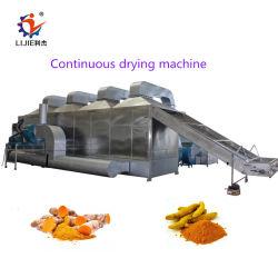 L'Oignon automatique complète de la puce de carotte Dés de pommes de terre propre tranche Peel de lavage bouteille gamme de machines de traitement de séchage du sécheur