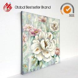 Fleur de couleur populaire la décoration d'huile sur toile (LH-P171101)