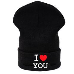 Chapeaux de Beanie Hat coeur Bébé Garçon Fille je Vous aime tricoter hiver chaud Cap