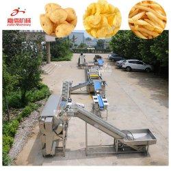 A fábrica alimentam directamente Instant Congelar/congelação/congelado RFJ/a fritura/Batata Frita Batatas Chips/Processo/Linha de transformação da indústria de alimentos com certificado CE