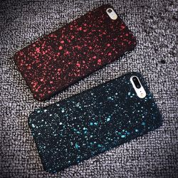 Ультратонкие 3D-Блестящие цветные лаки звездное небо мобильного телефона чехол для iPhone