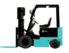 레이저가 있는 3톤 창고 재료 취급 지게차 견인 차량 내비게이션