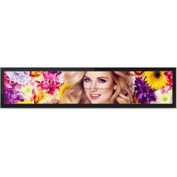 Настраиваемые Ultra Wide Digital Signage растянуть бар баннер ЖК-экран для отображения рекламы в розничном магазине полки и дисплей