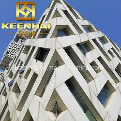 Décoration extérieure 3D de matériau de construction en aluminium façade perforée (KH-CW-80)