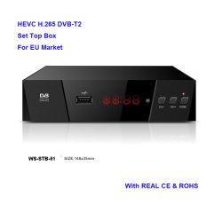 HDTV DVB-T2 수신기 Hevc H. 265 PVR USB HDMI 미디어 플레이어 USB Freenet 텔레비젼