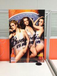 Grand format lenticulaire 3D affiche publicitaire Boîte à lumière