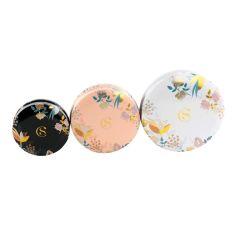 Kundenspezifische Qualitäts-kosmetische Zinn-Kasten-Kerze-Blechdose