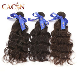 バージンのRemyのブラジルの人間の毛を編む安く自然な毛