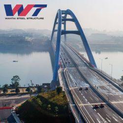 Pont en acier renforcé de demi-cercle de la structure en acier ondulé galvanisé arch bridge