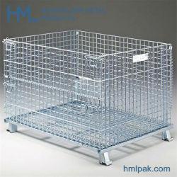 Volume de vendas a quente de ferro durável portátil Caixa de malha de arame metálico