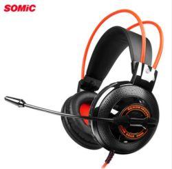 Somic G925 jogos estéreo Fone de ouvido com microfone Line Controller