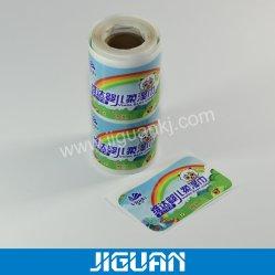 Пустые упаковки из полиэстера клей наклеек упаковки