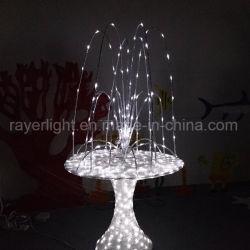 Fonte de LED das luzes brancas Jardim evento de decoração decoração de casamento
