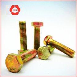 La vis haute résistance de catégorie 8.8 de la norme ASTM A325M vis pour le boulon à tête hexagonale de structure en acier