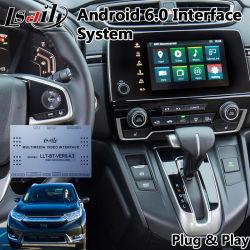 Percorso Android del sistema di GPS dell'interfaccia di Lsailt per il Cr-v della Honda di anno 2017-2019