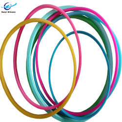 Custom Kleurrijke Fda Food Grade Silicone Rubber Seal O Ring