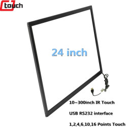 올인원 컴퓨터 모니터 LCD 적외선 터치스크린 프레임 패널 Windows7/8/10/XP/Android/Linux/iMac/라즈베리