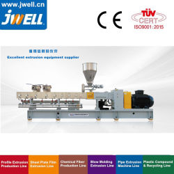 PVC PE PP TPU 用 Jwell Twin Screw Extruder Granules Machine