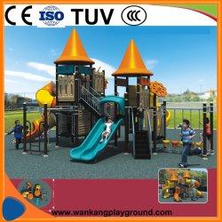 China Parque Infantil de plástico castillo deslice juegos al aire libre (WK-A1119)