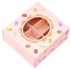 التعبئة والتغليف صندوق حلوى حلوى الماكرون صندوق الزفاف مربع حلوى الماكرون أدوات التعبئة