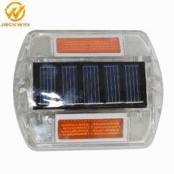 Nagel van de Weg van het hete LEIDENE van de Verkoop de ZonneOog van de Kat Weerspiegelende Plastic met Reflectors