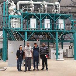 خط Eurpan القياسي الكامل 50t/24 ساعة مصنع طحن الذرة