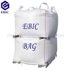 1500kg U-Panneau 4 boucles d'angle transversal super sac de sable du déflecteur de la Tonne Jumbo grand sac en vrac FIBC Q