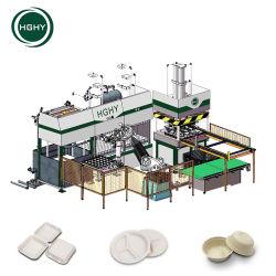 Hghy louça biodegradável de boa qualidade a linha de produção