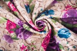 Мягкая обивка люкс из жаккардовой ткани из полиэфирного волокна ткани для одежды и печать мебель ткань