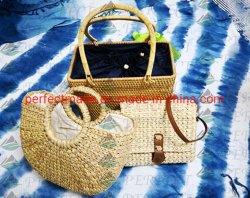 Saco de vime, sacos de Fábrica do mar, Moda Praia Saco, saco de tecido