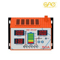 45A 60A MPPT солнечного контроллера заряда для солнечной системы питания