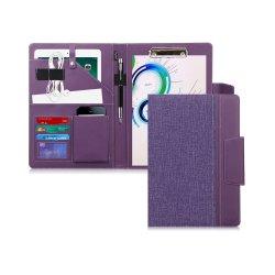 Document de format A4 Clip cuir synthétique Tablette de dossier