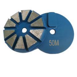 3 duim 80mm Diamant van Terrco van 10 Segment de Concrete Malende