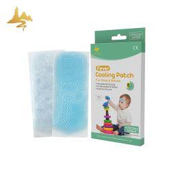 Réduire la chaleur de polymère hydrophile médical des enfants de la fièvre bloc de gel de refroidissement